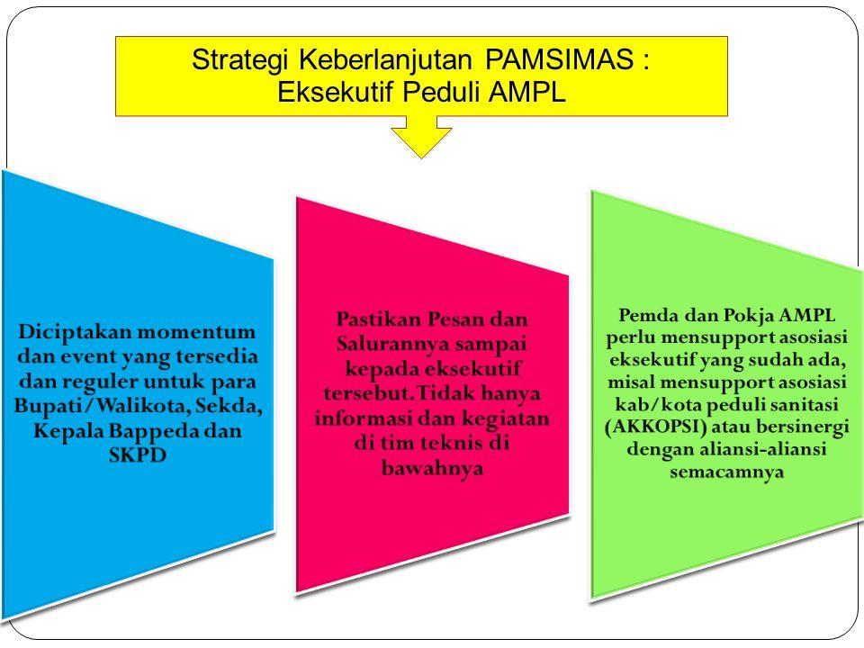 Strategi Keberlanjutan PAMSIMAS : Eksekutif Peduli AMPL
