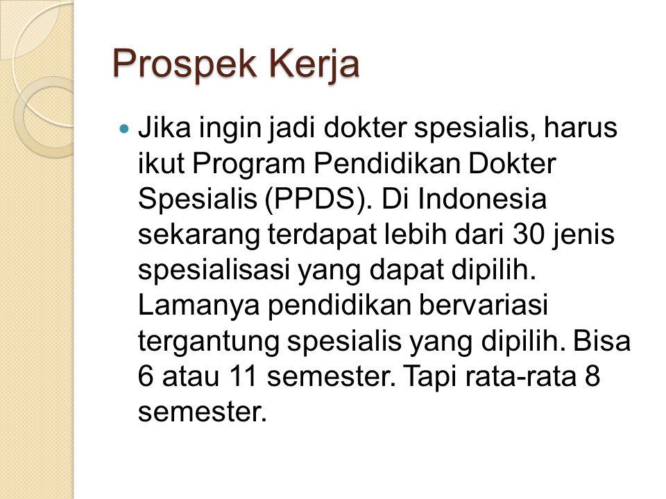 Prospek Kerja