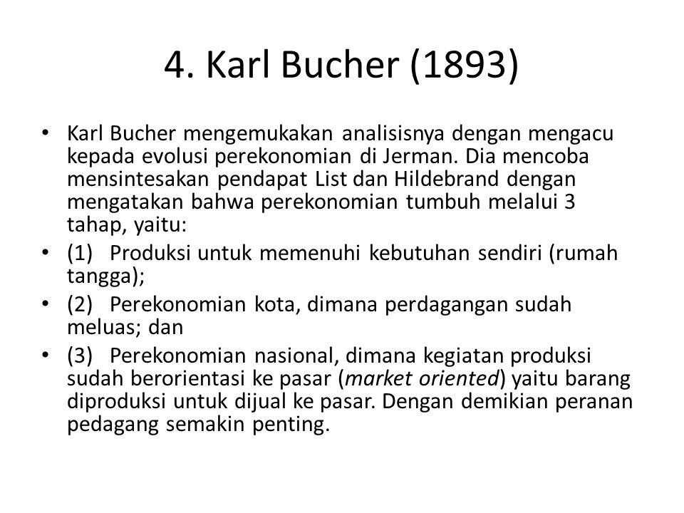4. Karl Bucher (1893)