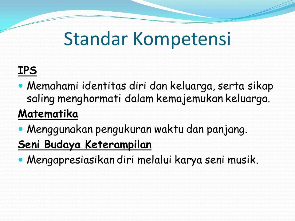 Standar Kompetensi IPS