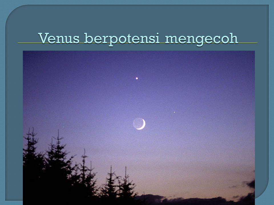 Venus berpotensi mengecoh