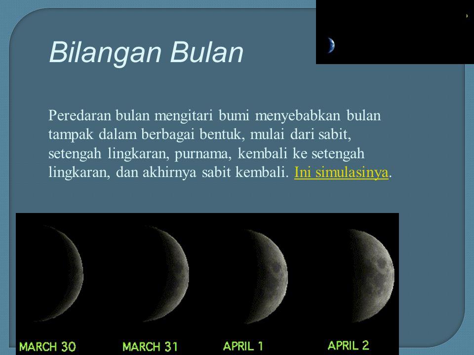 Bilangan Bulan