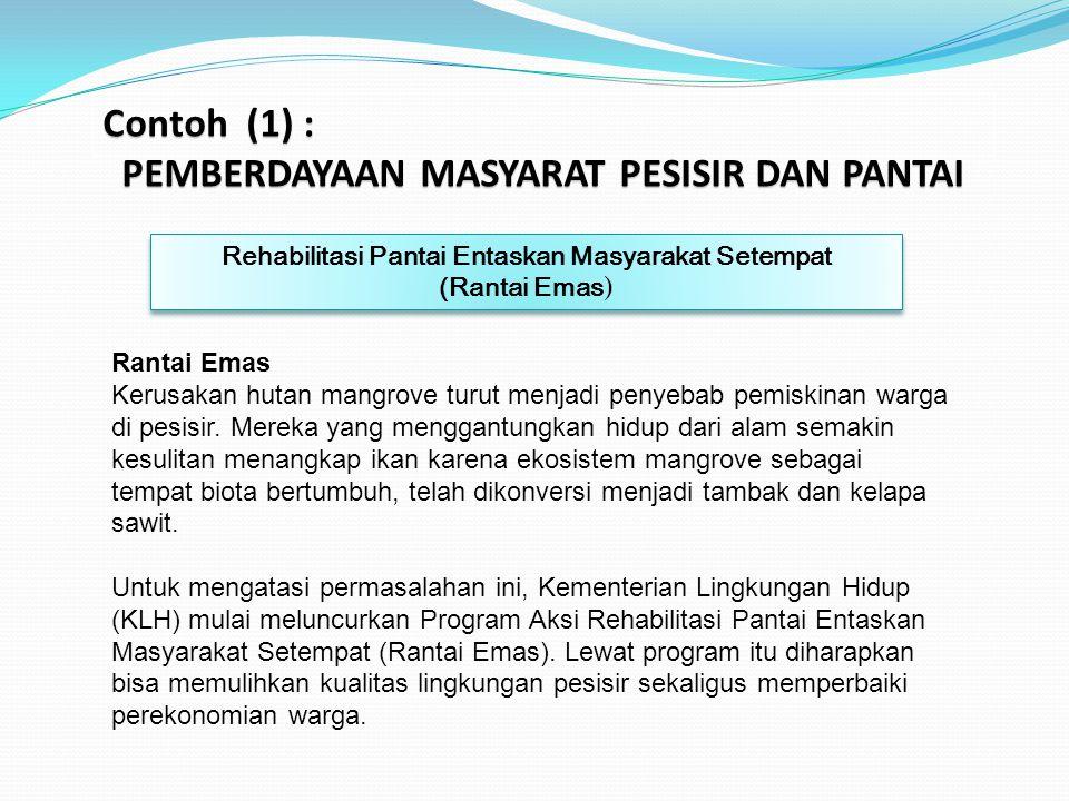PEMBERDAYAAN MASYARAT PESISIR DAN PANTAI