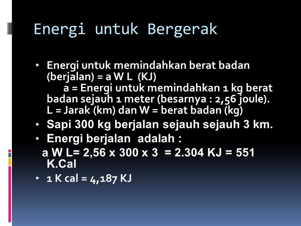 Energi untuk Bergerak