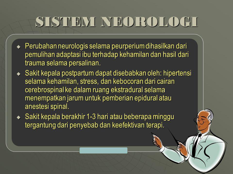 SISTEM NEOROLOGI