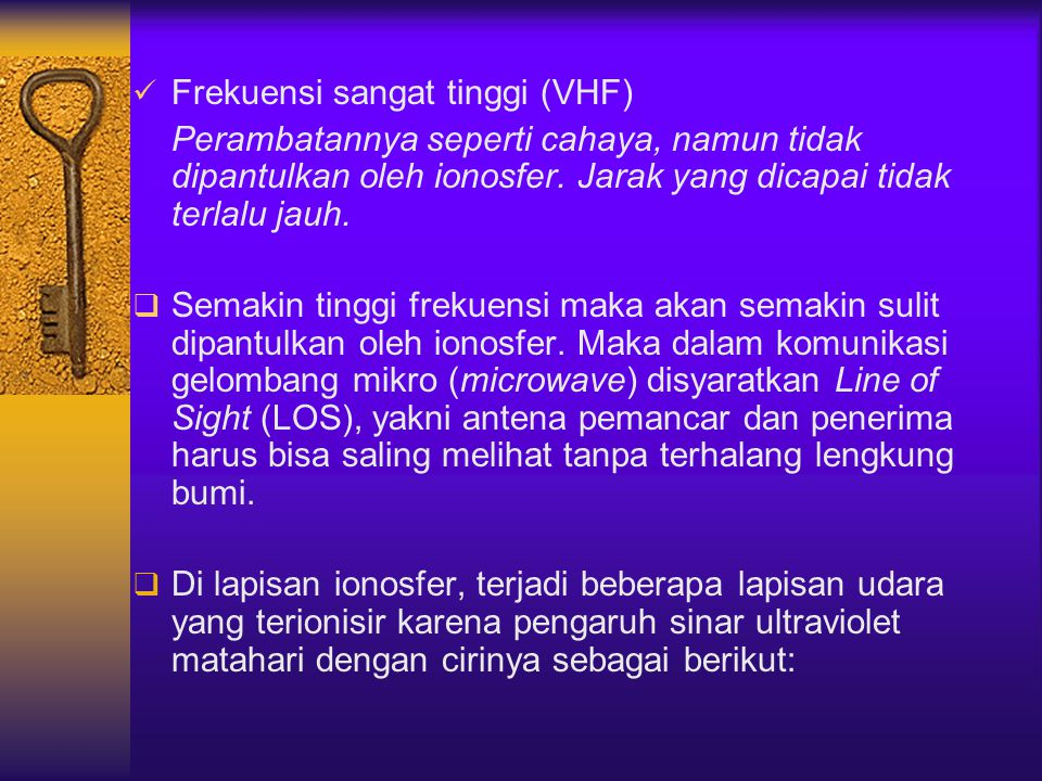Frekuensi sangat tinggi (VHF)