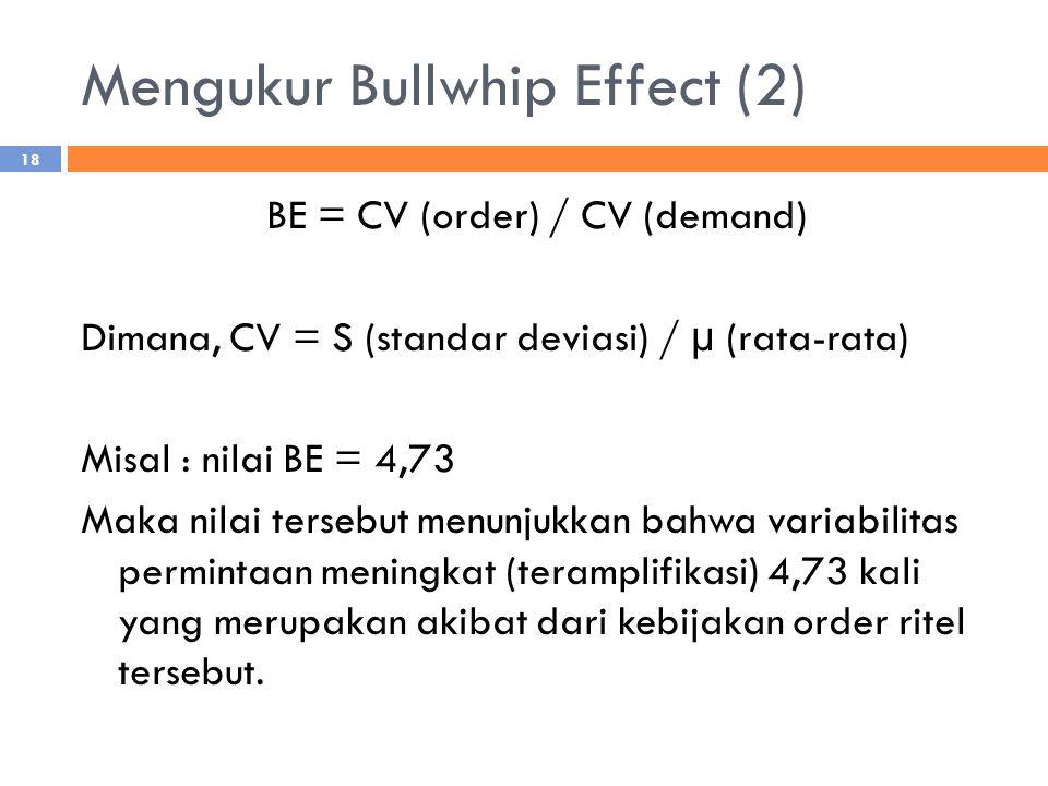 Mengukur Bullwhip Effect (2)