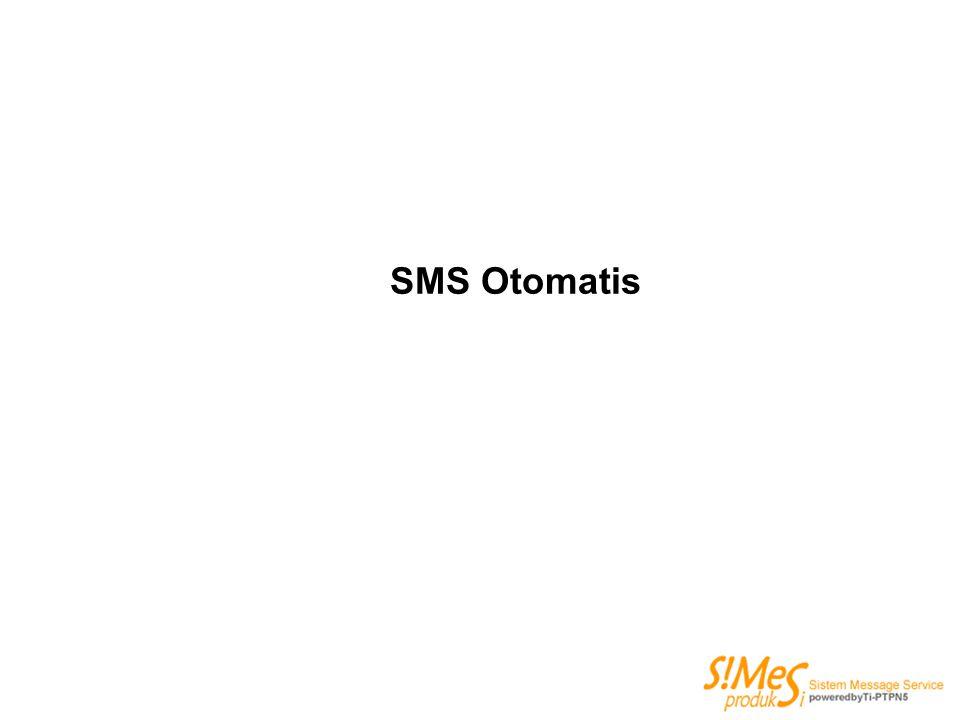 SMS Otomatis