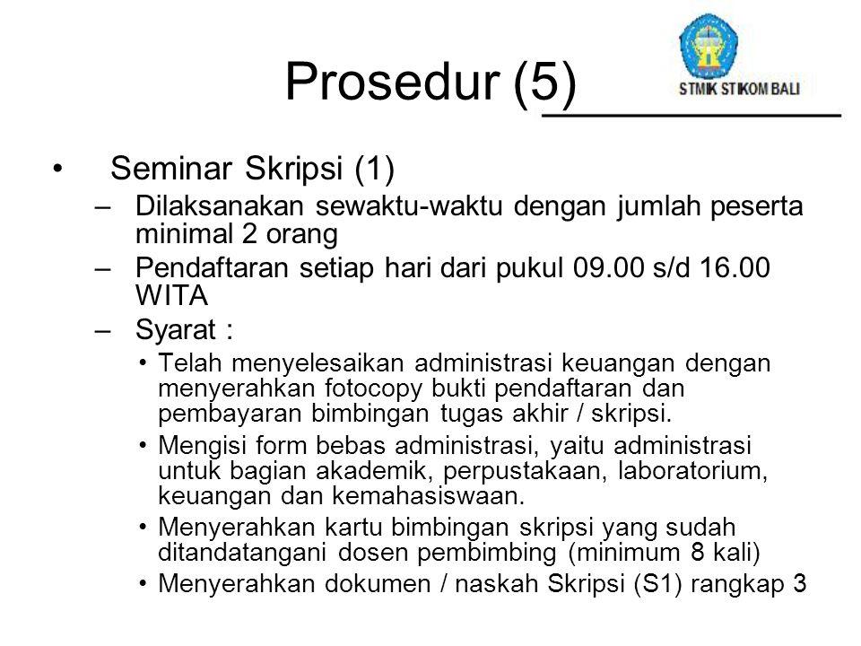 Prosedur (5) Seminar Skripsi (1)