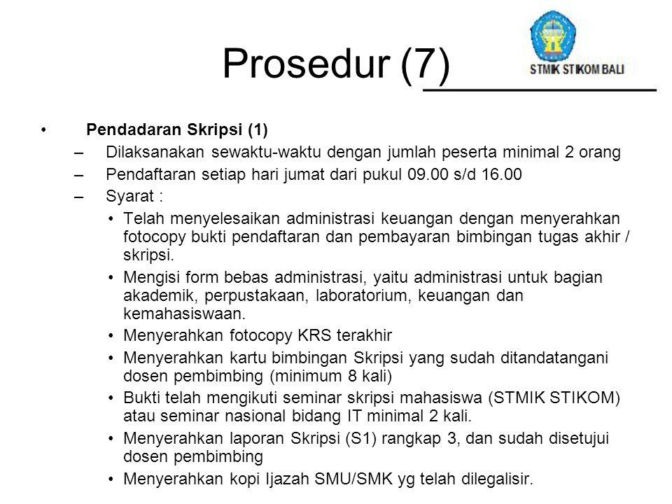 Prosedur (7) Pendadaran Skripsi (1)