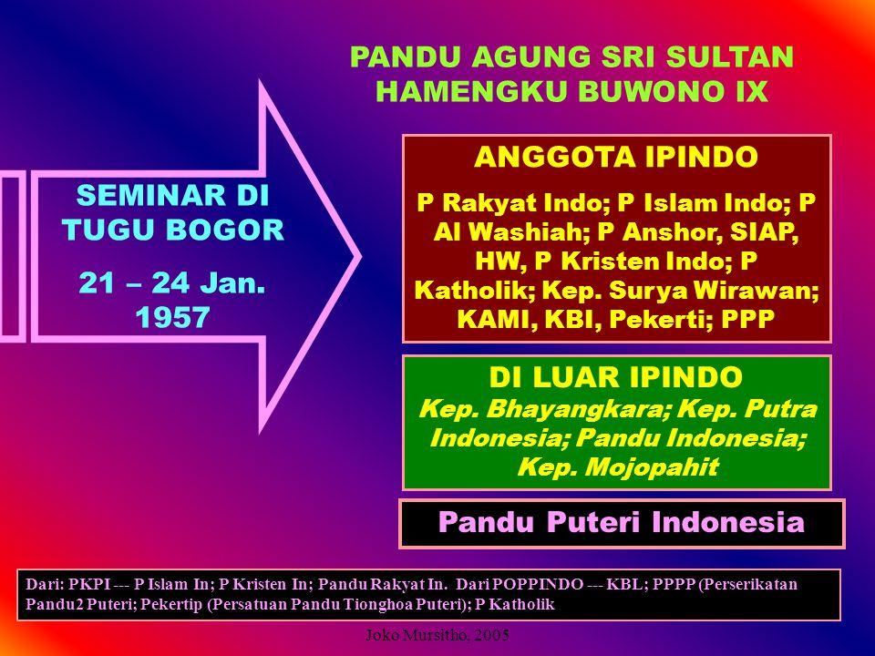 PANDU AGUNG SRI SULTAN HAMENGKU BUWONO IX