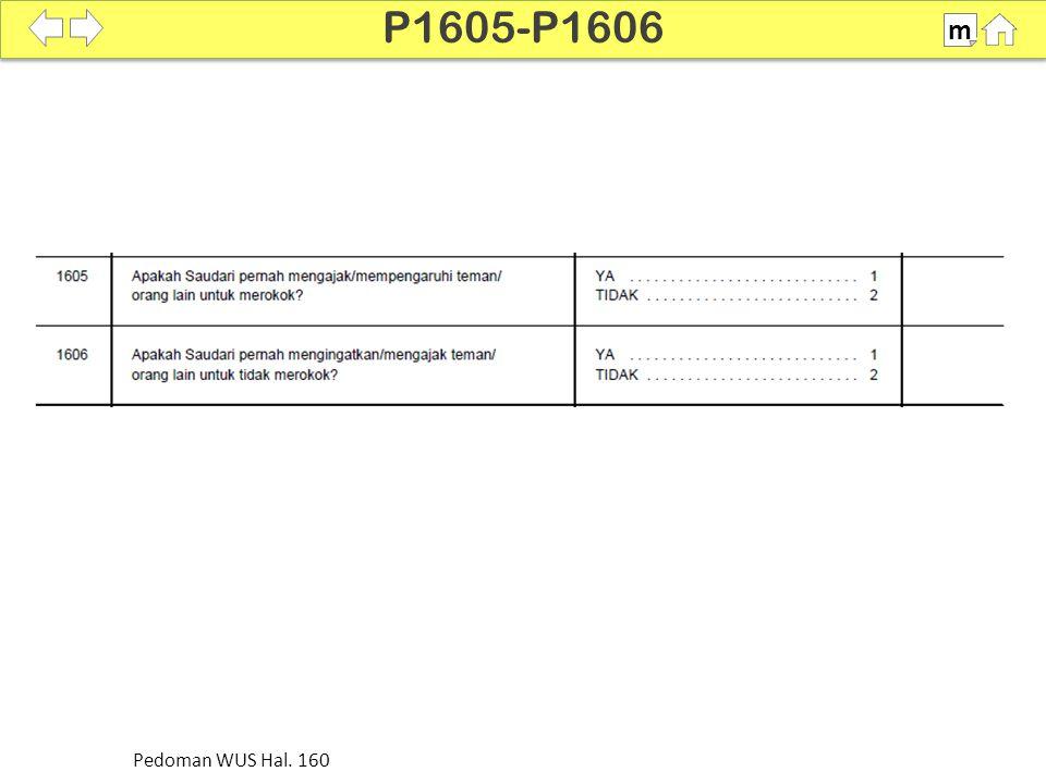 P1605-P1606 m Pedoman WUS Hal. 160