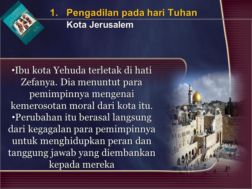 1. Pengadilan pada hari Tuhan Kota Jerusalem