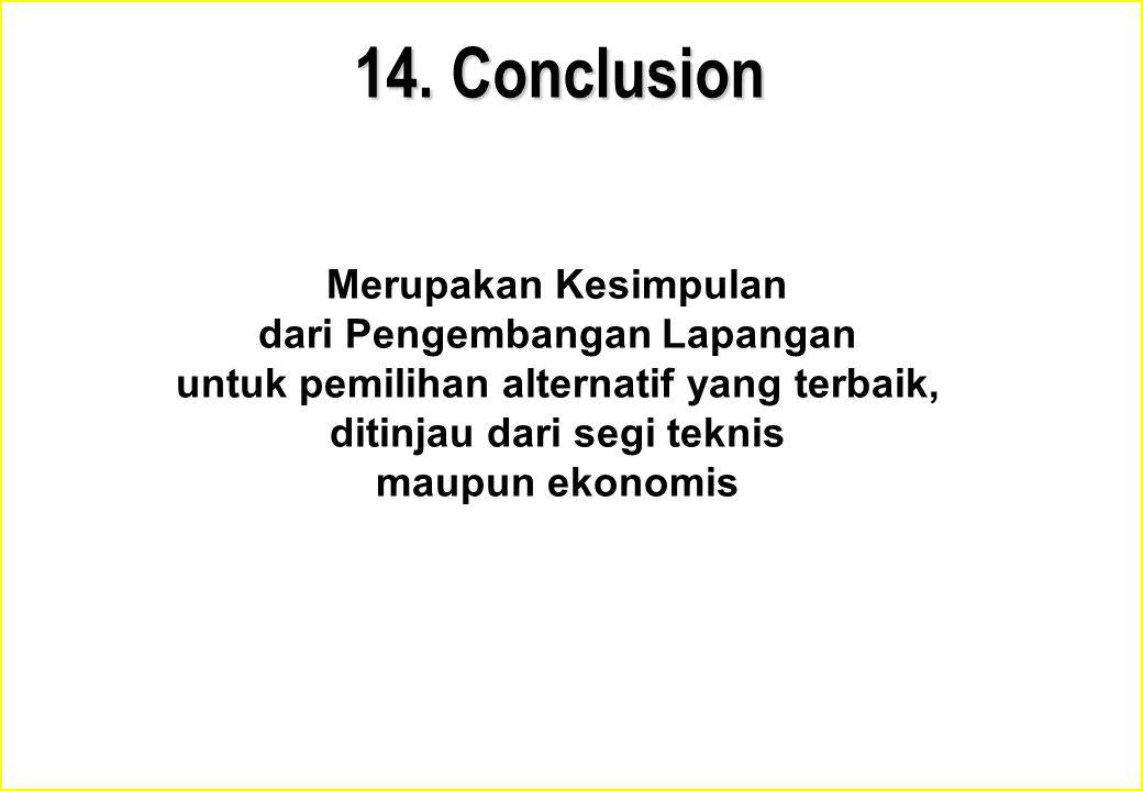 14. Conclusion