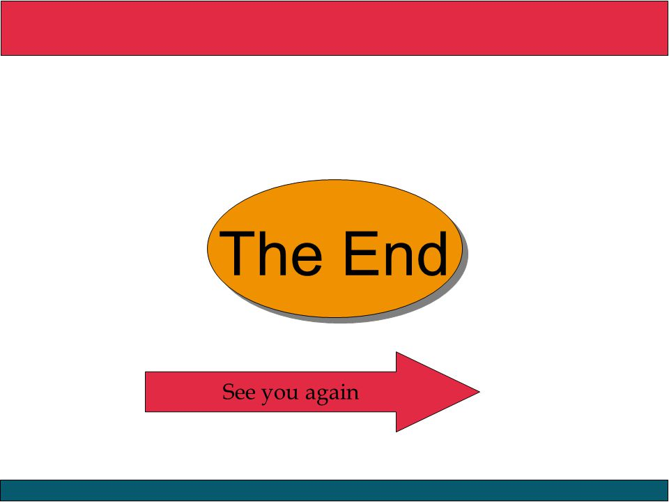 The End See you again