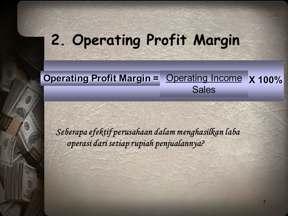 2. Operating Profit Margin