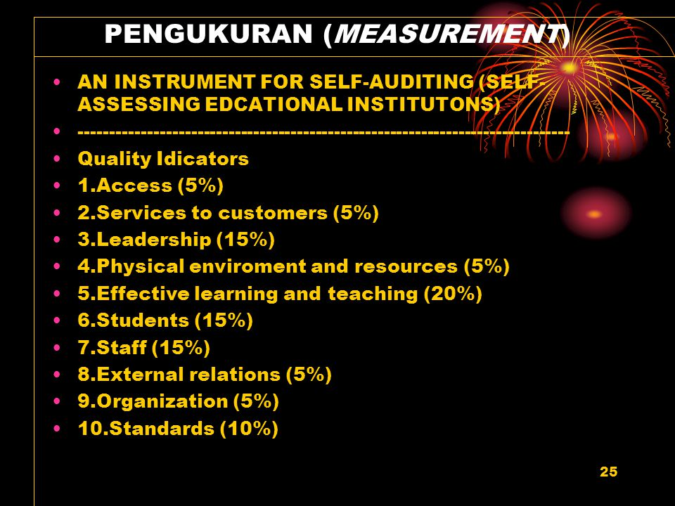 PENGUKURAN (MEASUREMENT)