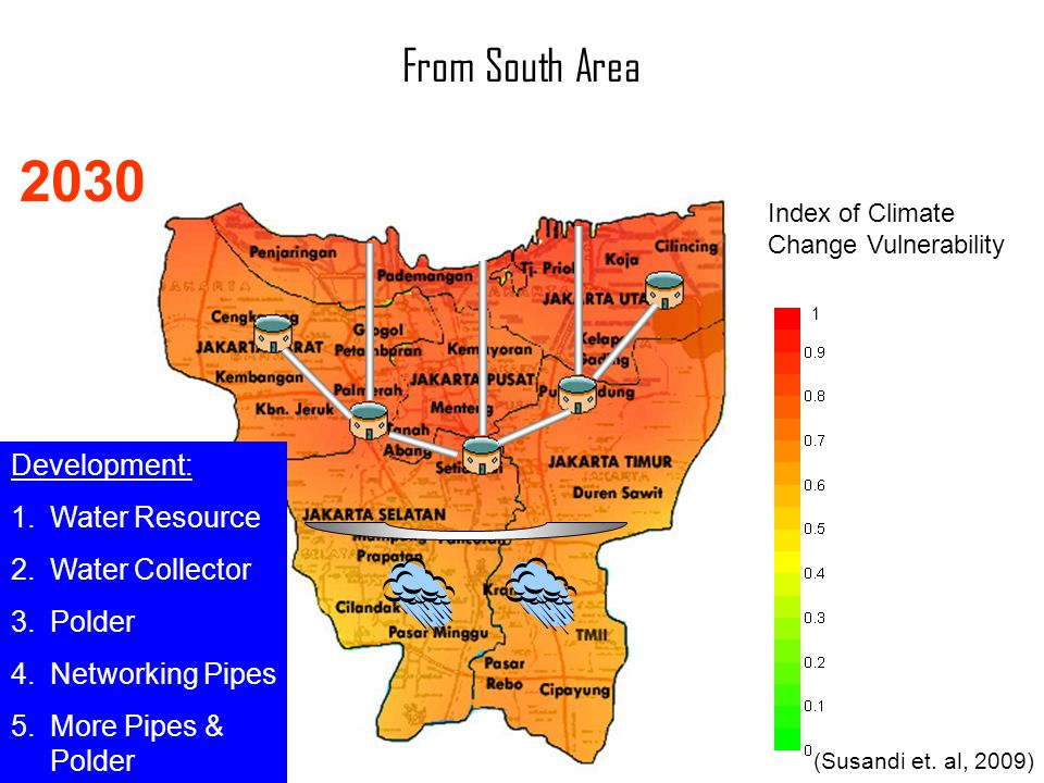 2030 From South Area Development: Water Resource Water Collector