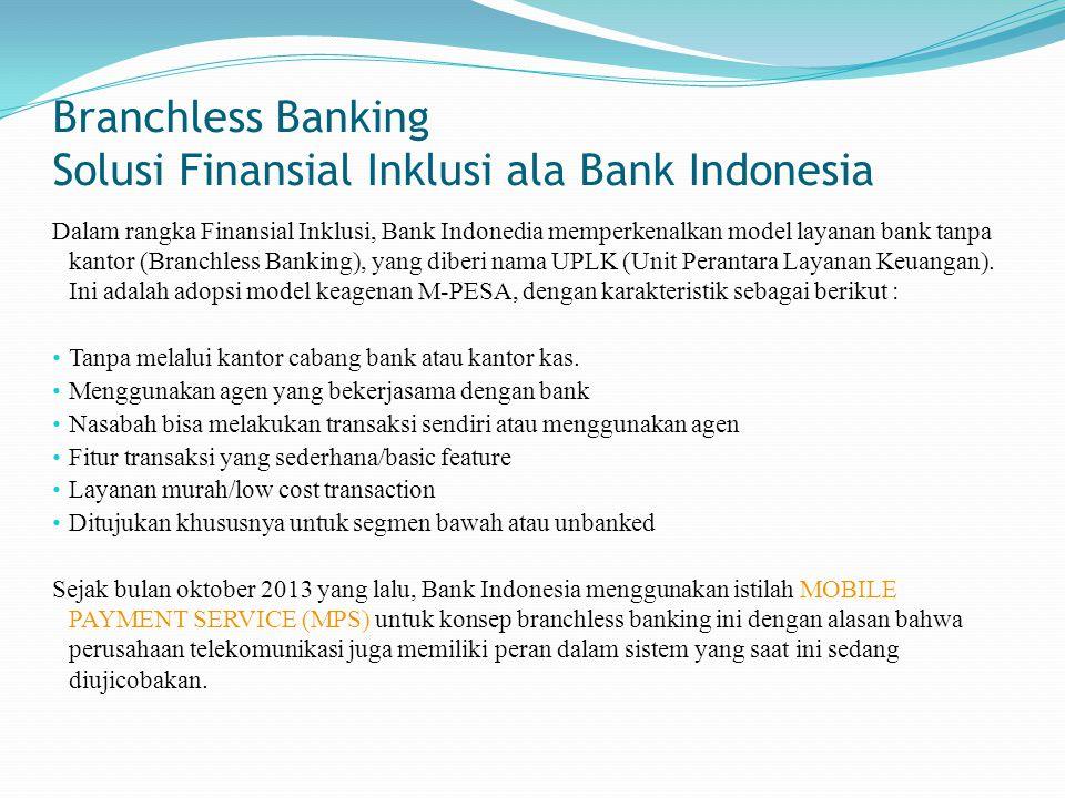 Solusi Finansial Inklusi ala Bank Indonesia