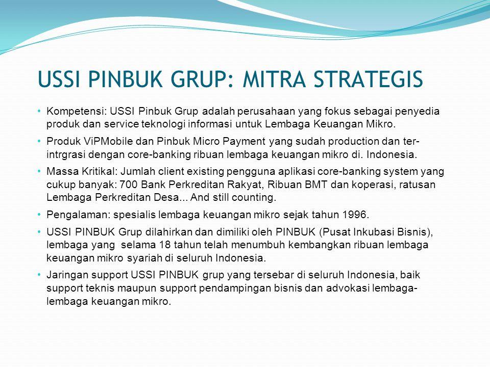 USSI PINBUK GRUP: MITRA STRATEGIS