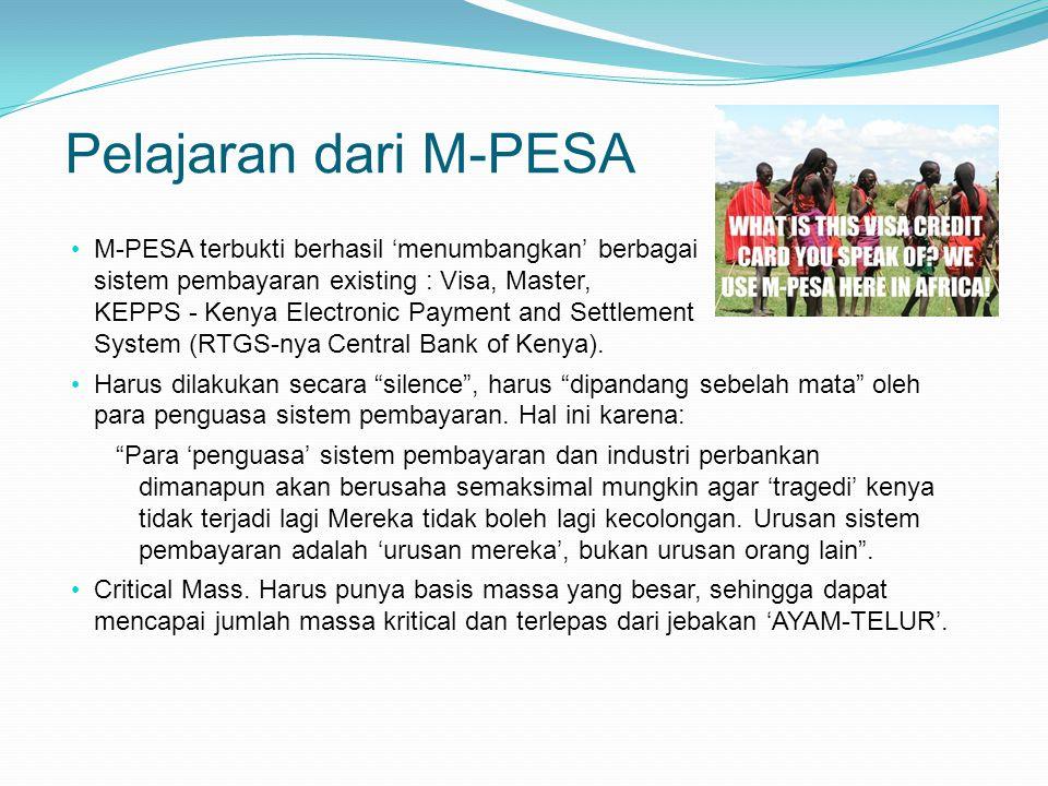 Pelajaran dari M-PESA