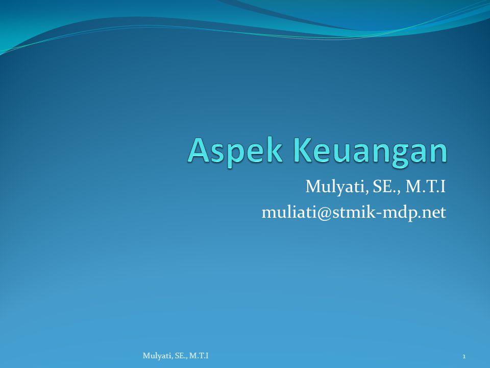 Mulyati, SE., M.T.I muliati@stmik-mdp.net
