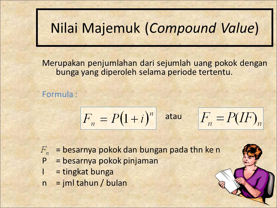 Nilai Majemuk (Compound Value)