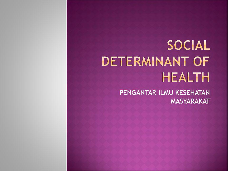 Social Determinant of Health