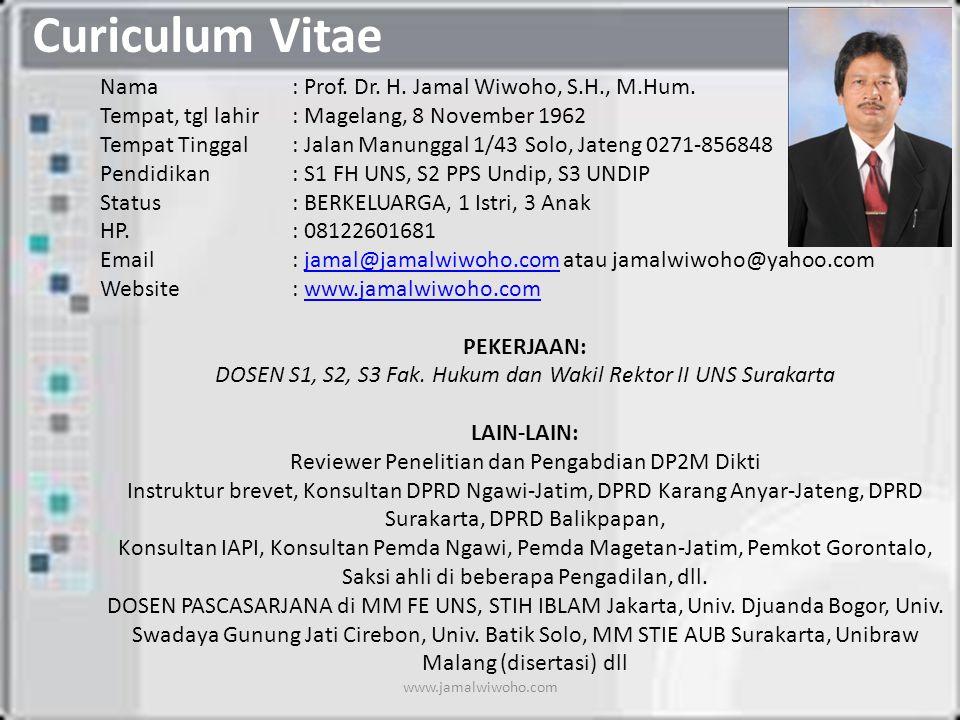 Curiculum Vitae