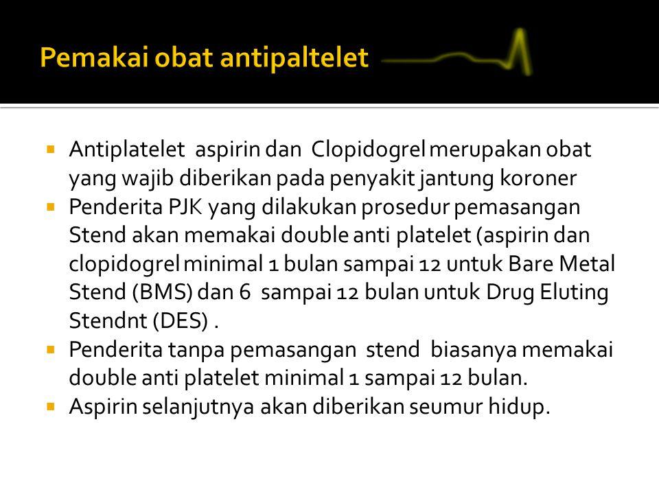 Pemakai obat antipaltelet