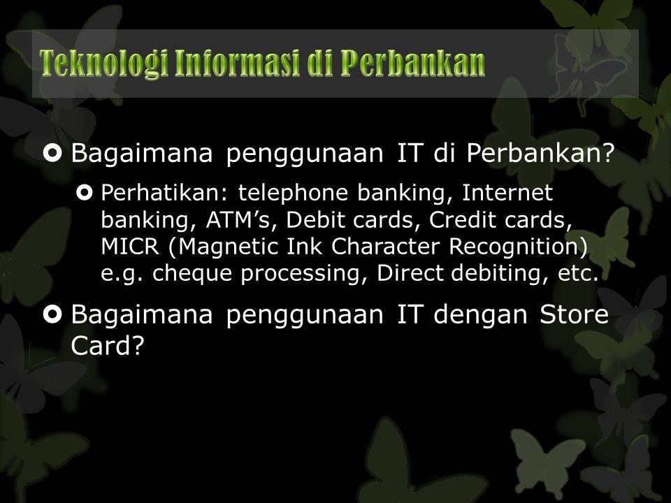 Teknologi Informasi di Perbankan