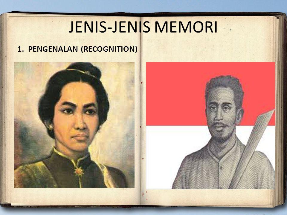 JENIS-JENIS MEMORI 1. PENGENALAN (RECOGNITION)