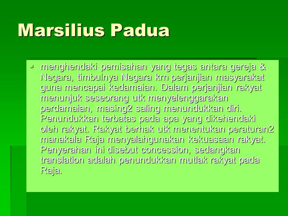 Marsilius Padua