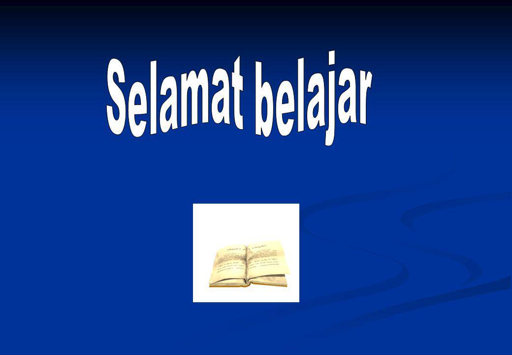 Selamat belajar