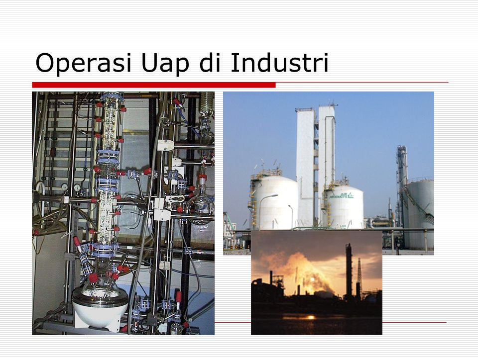 Operasi Uap di Industri