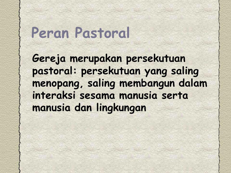 Peran Pastoral