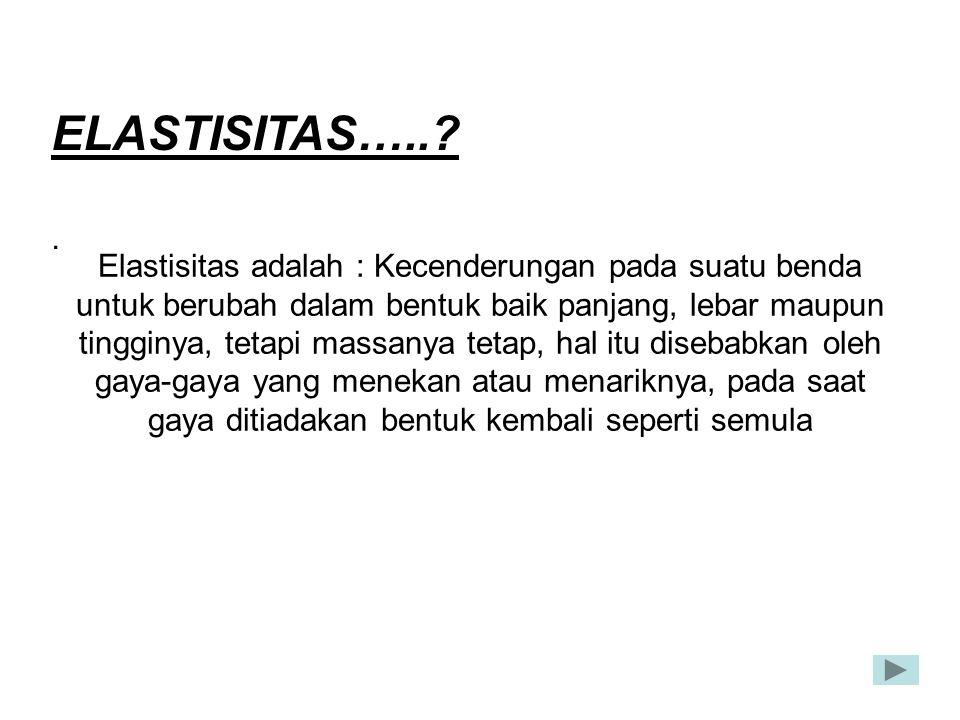 ELASTISITAS….. .