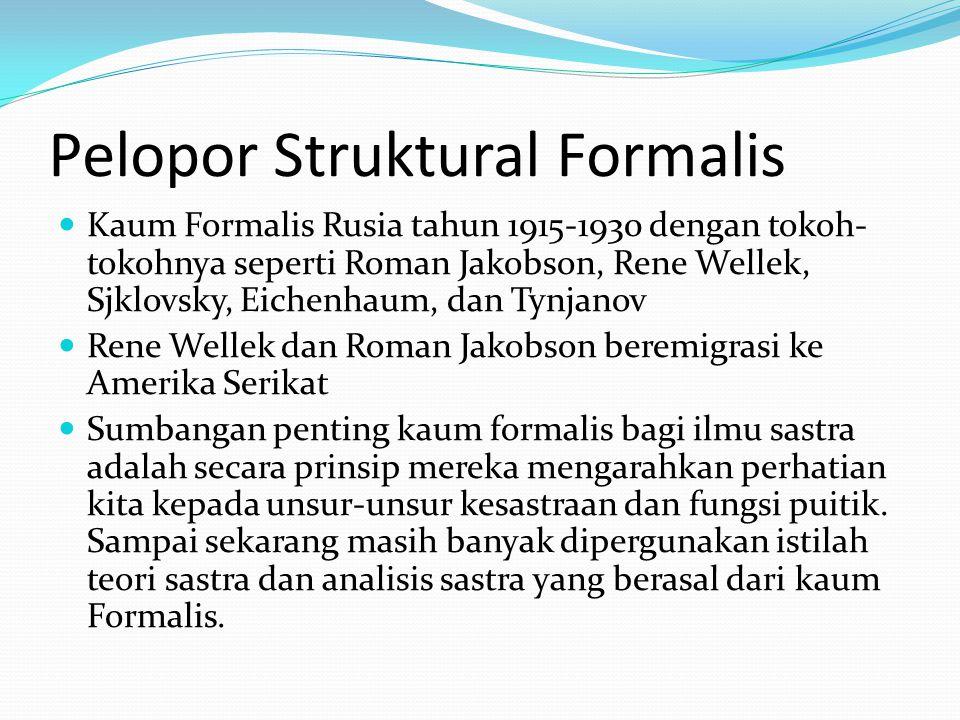 Pelopor Struktural Formalis