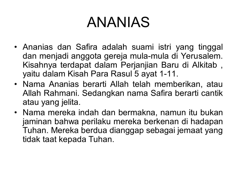ANANIAS