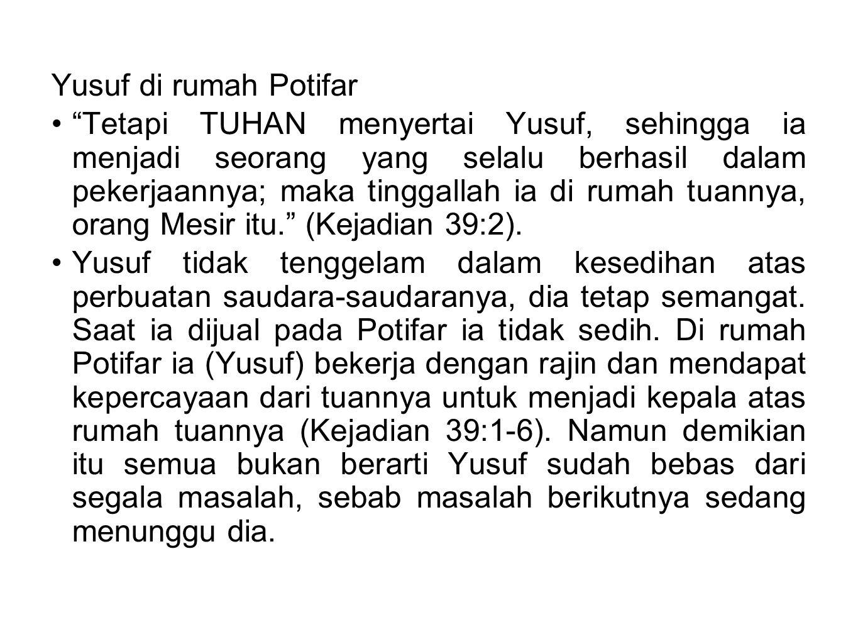 Yusuf di rumah Potifar