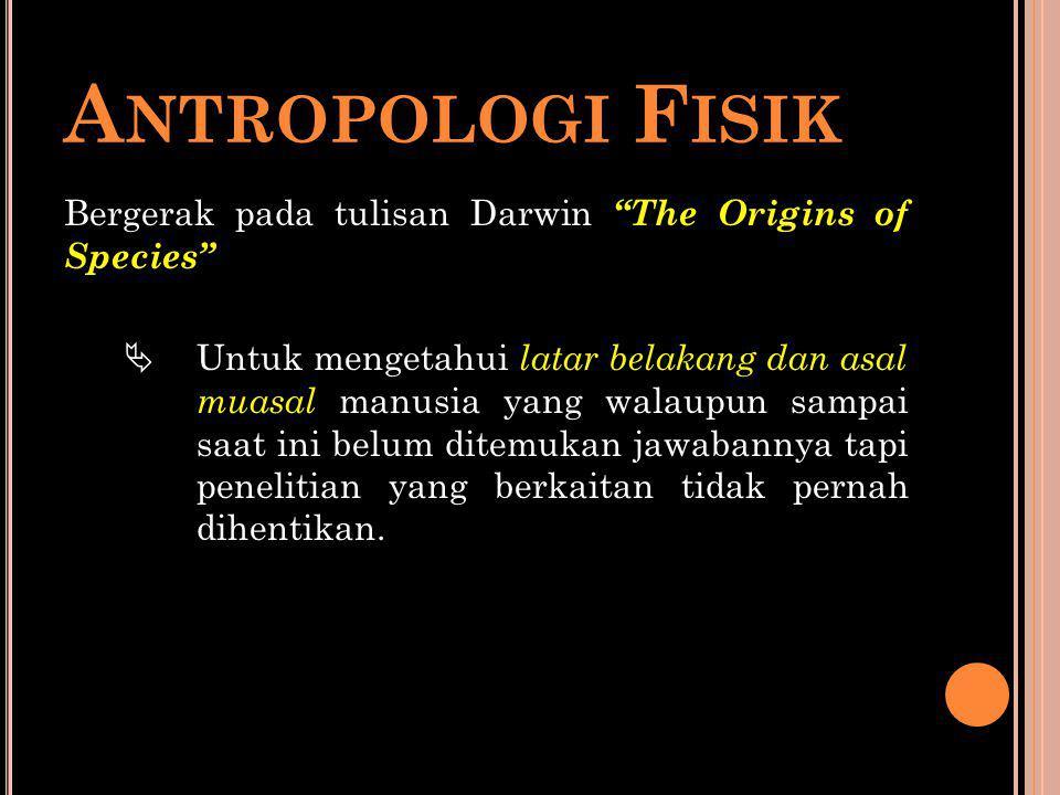 Antropologi Fisik