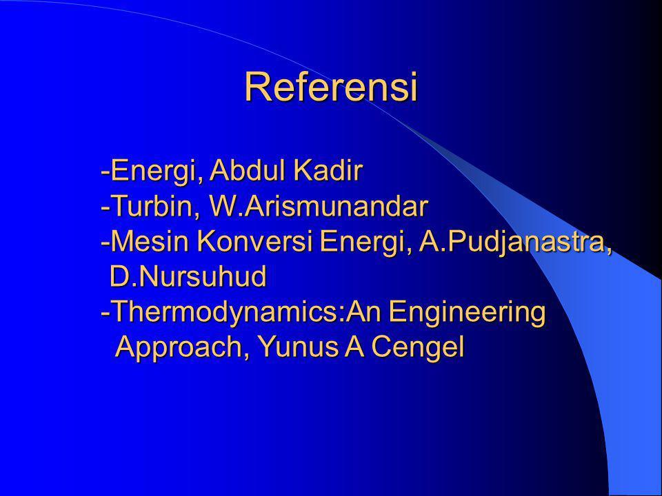 Referensi Energi, Abdul Kadir Turbin, W.Arismunandar