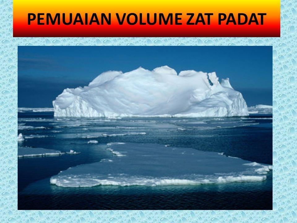 PEMUAIAN VOLUME ZAT PADAT