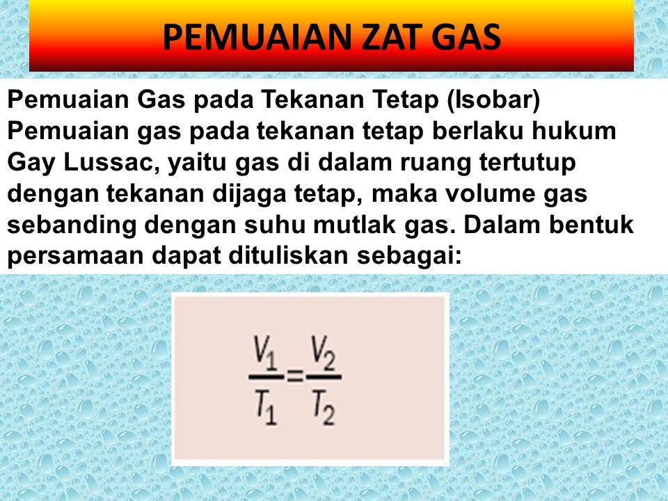 PEMUAIAN ZAT GAS