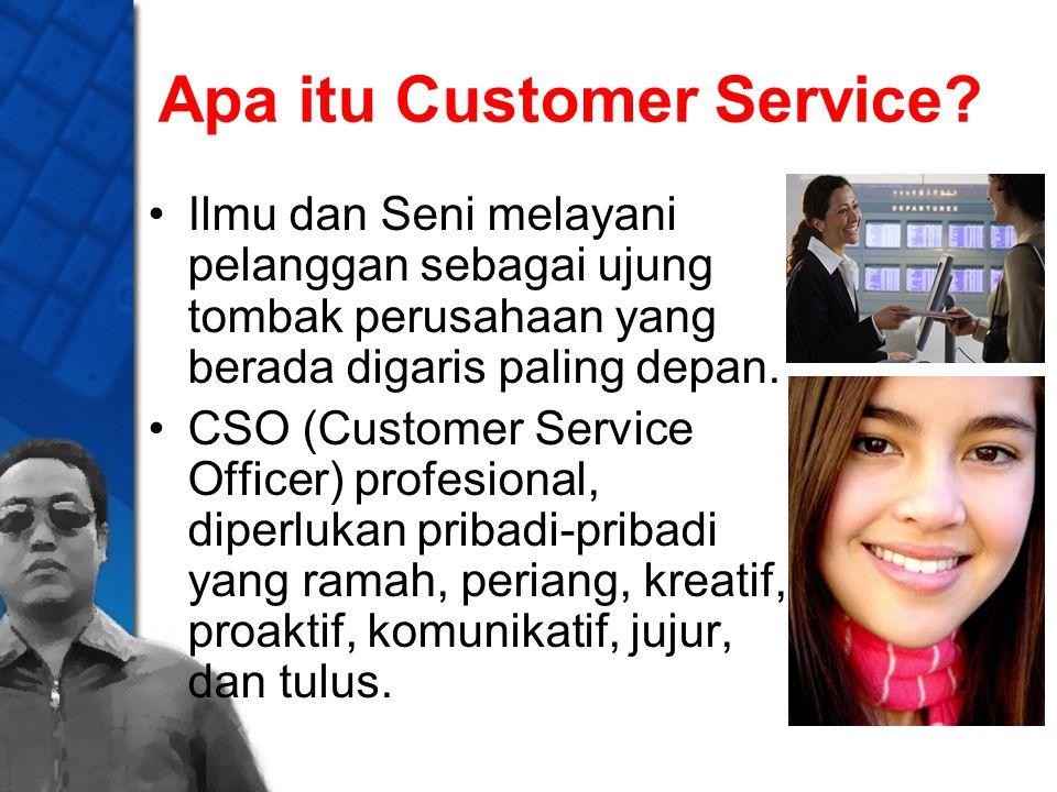 Apa itu Customer Service