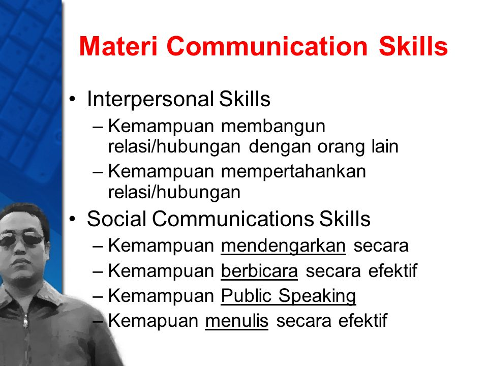 Materi Communication Skills