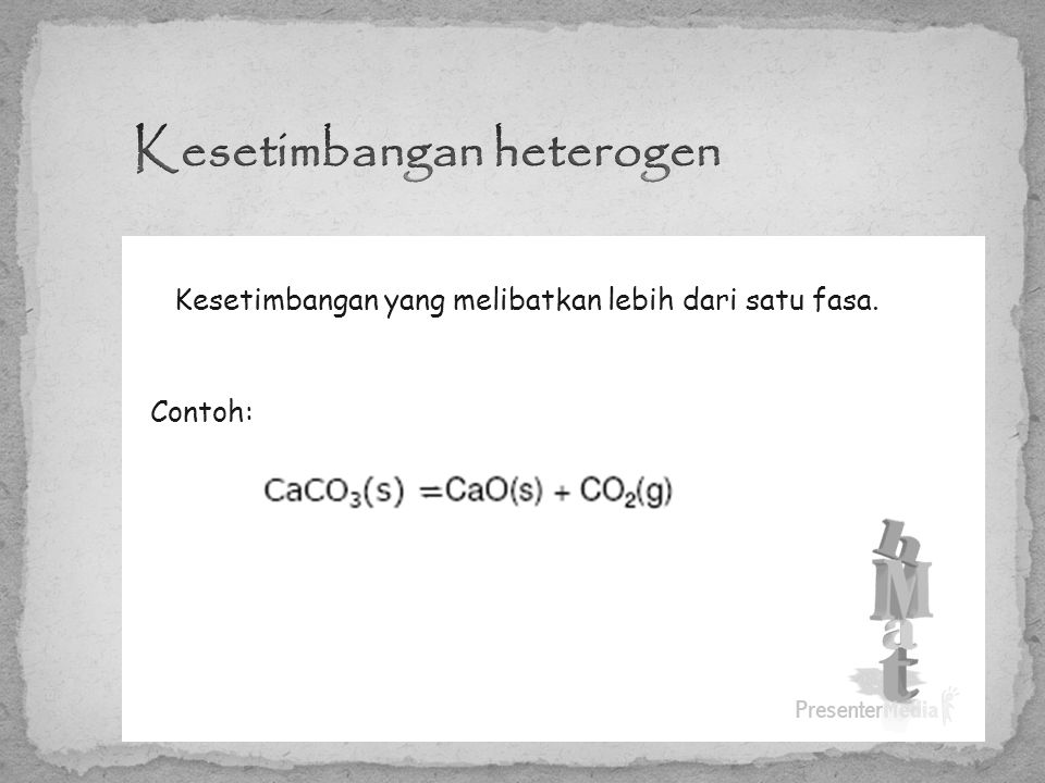 Kesetimbangan heterogen