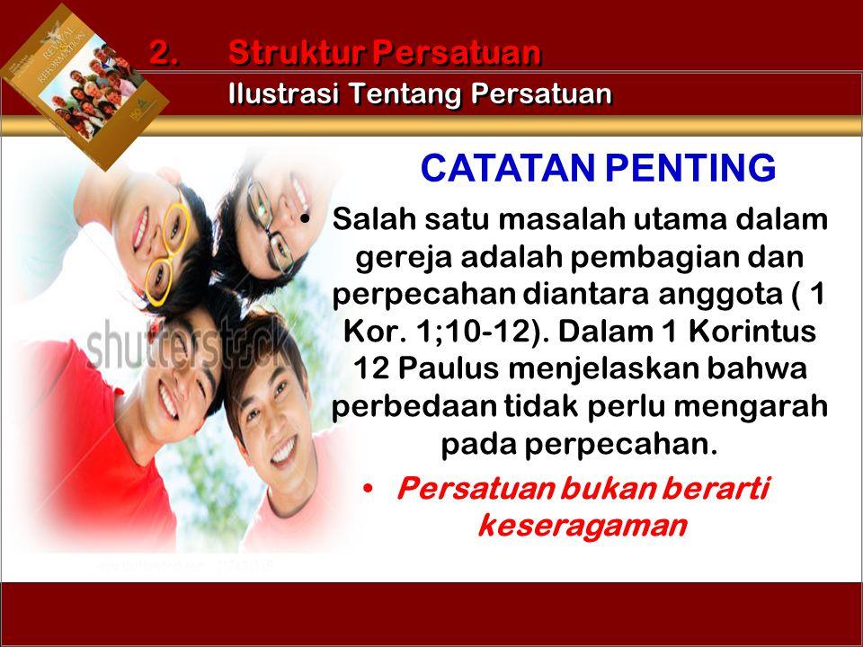 2. Struktur Persatuan Ilustrasi Tentang Persatuan