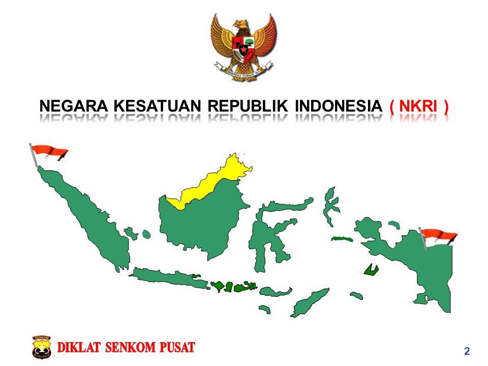 NEGARA KESATUAN REPUBLIK INDONESIA ( NKRI )
