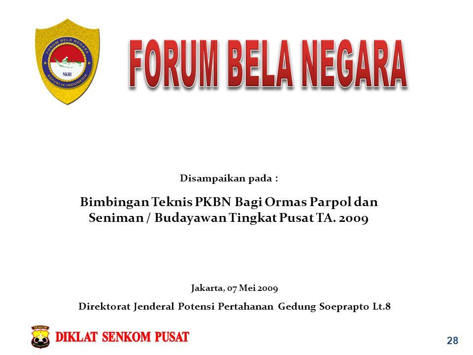 Direktorat Jenderal Potensi Pertahanan Gedung Soeprapto Lt.8